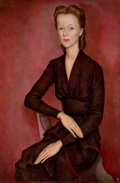 Fine Art - Painting, European:Modern  (1900 1949)  , FRENCH SCHOOL (20th Century). Marie-Louise Remy, circa 1930s. Oil on canvas. 36 x 25-1/2 inches (91.4 x 64.8 cm). Apocry...