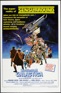 """Movie Posters:Science Fiction, Battlestar Galactica (Universal, 1978). One Sheet (27"""" X 41""""). FlatFolded. Style C. Science Fiction.. ..."""