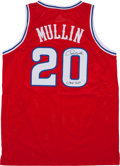 Basketball Collectibles:Uniforms, Chris Mullin Signed St. John's Jersey....