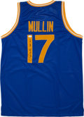 Basketball Collectibles:Uniforms, Chris Mullin Signed Golden State Warriors Jersey....