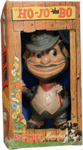 Baseball Collectibles:Others, 1949 Rempel Brooklyn Bum Rubber Squeak Toy and Original Box. ...