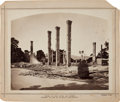 Photography, Ruins of the Hotel Del Monte, a Large Circa 1890 Photo. ...
