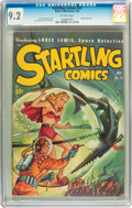 Golden Age (1938-1955):Adventure, Startling Comics #52 (Better Publications, 1948) CGC NM- 9.2 Off-white pages....