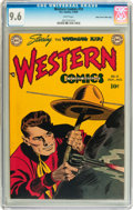 Golden Age (1938-1955):Western, Western Comics #10 Mile High pedigree (DC, 1949) CGC NM+ 9.6 Whitepages....