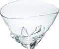 Political:Presidential Relics, Large Steuben Crystal Bowl Designed by Donald Pollard in 1959, Benefiting Lady Bird Johnson Wildflower Center....
