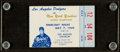 "Baseball Collectibles:Tickets, 1959 Roy Campanella ""Campy Benefit Night"" Ticket Stub...."