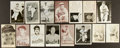 Baseball Collectibles:Others, Baseball Greats Signed Vintage Photographs and Postcards Lot of15....