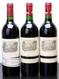 Red Bordeaux, Chateau Lafite Rothschild. Pauillac. 1984 ltl Bottle (1).1988 Bottle (2). ... (Total: 3 Btls. )