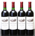 Red Bordeaux, Chateau Ausone 2001 . St. Emilion. 2bn, 4lbsl. Bottle (4).... (Total: 4 Btls. )
