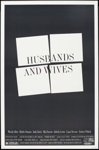 "Husbands and Wives (Tri-Star, 1992). One Sheet (27"" X 41""). Drama"