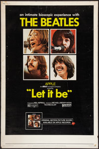 """Let It Be (United Artists, 1970). Poster (40"""" X 60""""). Rock and Roll"""