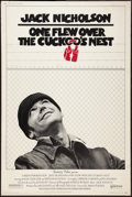 "Movie Posters:Academy Award Winners, One Flew Over the Cuckoo's Nest (United Artists, 1975). Poster (40"" X 60""). Academy Award Winners.. ..."