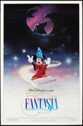 "Movie Posters:Animation, Fantasia (Buena Vista, R-1990). One Sheets (2) (27"" X 41""). DS. Animation.. ... (Total: 2 Items)"