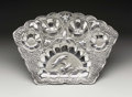 Silver Holloware, Chinese Export:Holloware, A Chinese Export Silver Dish. Unknown maker, China. Twentieth Century. Silver. Unmarked. 9.75 in. wide, 5.10 troy ounces. ... (Total: 1 Item)