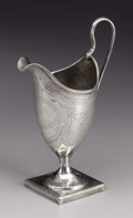 Silver Holloware, British:Holloware, A George III Silver Cream Jug . Unknown maker, London, England.1810-11. Silver. Marks: (lion passant), (leopard's head),...