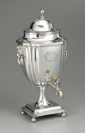Silver Holloware, British:Holloware, An English Silver Plate Tea Urn. Unknown maker, possibly Sheffield,England. Nineteenth Century. Silver plate and ivory. U...