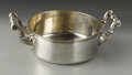 Silver Holloware, French:Holloware, A French Silver Serving Dish. Unknown maker, France. Nineteenth orTwentieth Century. Silver. Marks: 1014/LEVR..., MAQU...