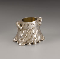 A Russian Silver Sugar Bowl in the Pan-Slavic Style  Karl Faberge, St. Petersburg, Russia Circa 1896-1908 Silver and s...