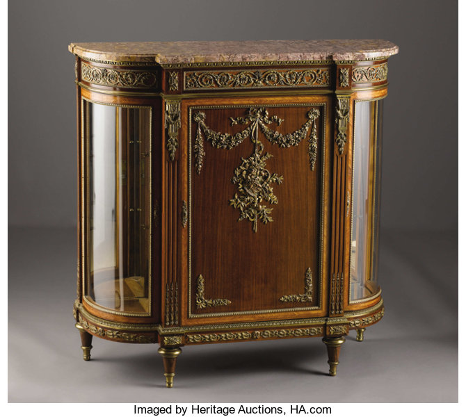 unknown maker furniture french a french louis xvi style meuble dappui