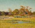 Fine Art - Painting, American:Antique  (Pre 1900), EDWARD HERBERT BARNARD (American, 1855-1909). AutumnLandscape. Oil on canvas. 21 x 17 inches (53.3 x 43.2 cm).Signed a...