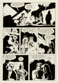 Original Comic Art:Panel Pages, Jaime Hernandez Mechanics Page 3 Original Art(Fantagraphics, 1985).. ...