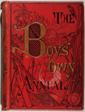 Books:Americana & American History, The Boy's Own Annual. Volume 11 (October 6, 1888 to August3, 1889). [London: Boy's Own Paper, 1888-1889]. First edi...