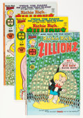 Bronze Age (1970-1979):Humor, Richie Rich Zillionz File Copy Group (Harvey, 1976-82) Condition: Average NM-.... (Total: 69 Comic Books)