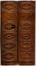 Books:Fine Bindings & Library Sets, [Fine Bindings]. The Works of Beaumont and Fletcher...with Notesand a Biographical Memoir by The Rev. Alexander Dyce....(Total: 2 Items)