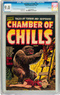Golden Age (1938-1955):Horror, Chamber of Chills #14 File Copy (Harvey, 1952) CGC VF/NM 9.0 Creamto off-white pages....