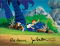 Animation Art:Limited Edition Cel, The Jetsons Meet The Flintstones Animation Production CelAnimation Art (Hanna-Barbera, 1987). ...