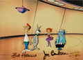 Animation Art:Limited Edition Cel, Jetsons: The Movie Animation Production Cel Animation Art(Hanna-Barbera, 1990)....