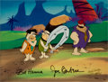 Animation Art:Limited Edition Cel, The Jetsons Meet The Flintstones Animation Production Cel Animation Art (Hanna-Barbera, 1987)....