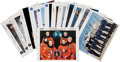 Autographs:Celebrities, Space Shuttle Endeavour (OV-105) Crew-Signed Color Photo Collection. ... (Total: 25 Items)