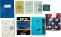 Transportation:Aviation, SR-71, U-2, and F-4 Aviation-Related Books, Manuals, etc. ...(Total: 12 Items)
