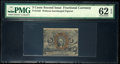 Fractional Currency:Second Issue, Fr. 1232 5¢ Second Issue PMG Uncirculated 62 EPQ.. ...