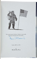 Autographs:Celebrities, Apollo Limited Edition Easton Press Book Signed by Author Alan Bean. ...