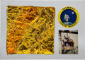 Transportation:Space Exploration, Apollo Lunar Module: Large Kapton Foil Sample in Lucite (Limited Edition, 15 of 25). ...