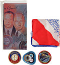 Transportation:Space Exploration, Apollo and Skylab Memorabilia Originally from the PersonalCollection of North American Aviation President William B. Berg...(Total: 15 Items)