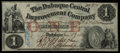 Obsoletes By State:Iowa, Dubuque, IA- Dubuque Central Improvement Company $1 Jan. 15, 1858. ...
