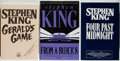 Books:Horror & Supernatural, Stephen King. Group of Three Books, including: Four PastMidnight. New York: Viking, [1990]. Uncorrected proof. ...(Total: 3 Items)