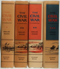 Books:Americana & American History, Shelby Foote. The Civil War. New York: Random House,[1958-1974]. Various printings. Two copies of volume II inc...(Total: 4 Items)