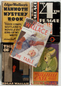 Books:Mystery & Detective Fiction, Edgar Wallace. Group of Five Books, including: The Hand ofPower; Mammoth Mystery Book; The 4th Plague; The Table;...(Total: 5 Items)