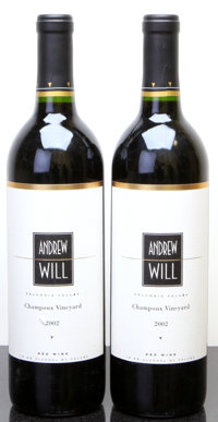 Andrew Will Red 2002 Champoux Vineyard Bottle (2)
