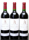 Red Bordeaux, Chateau Latour 1996 . Pauillac. 3lbsl. Bottle (3). ...(Total: 3 Btls. )