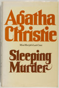 Books:Mystery & Detective Fiction, Agatha Christie. Sleeping Murder. New York: Dodd, Mead,[1976]. First American edition, first printing. Octavo. 242 ...