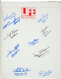 Autographs:Celebrities, LIFE in Space Book Signed by Ten Astronauts....