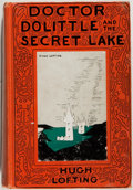 Books:Children's Books, Hugh Lofting. Doctor Dolittle and the Secret Lake.Philadelphia: Lippincott, [1948]. First edition, first printi...