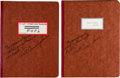 """Transportation:Space Exploration, Apollo 7: Internal NASA Training-Used Letters & Memos Contained in """"Apollo 7 Planning"""" and """"Flight Operations Planning"""" Binder... (Total: 3 Items)"""