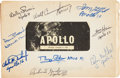 Transportation:Space Exploration, 1965 Apollo Logistics Training Book Signed by Nine ApolloAstronauts, Originally From the Personal Collection of AstronautGor...
