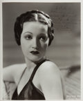 Autographs:Celebrities, Dorothy Lamour. (1914-1996, American Film Actress). Signed andInscribed Photo. Approximately 8 x 9.5 inches. A bit of trimm...